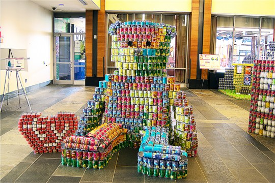 'Canstruction' Boston Celebrates 20 Years Of Donating Cans For A Cause
