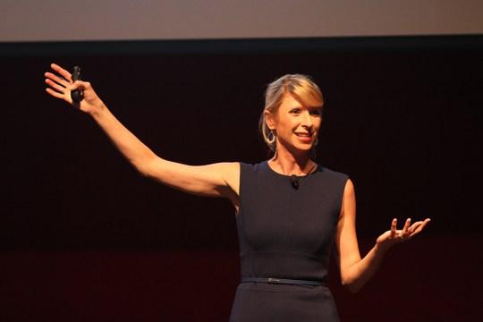 Amy Cuddy Talks Posture, Finding Inner Power