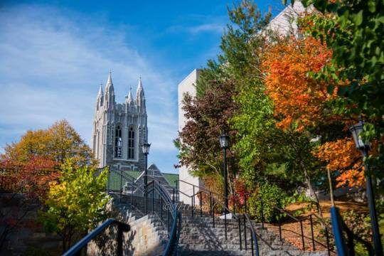 BC Drops 27 Spots to No. 49 in Forbes Ranking