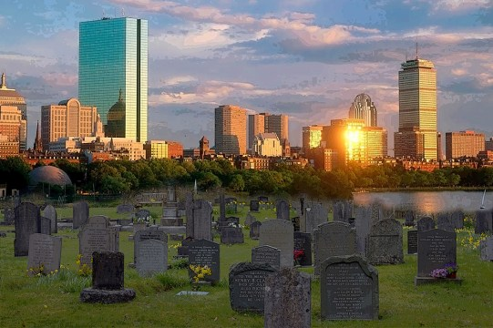 Boston, Graveyards, And Retreating Into The City