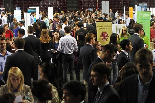 Career Center Discusses Internship Recruitment, Career Paths