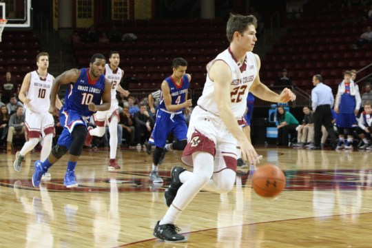 UMass Lowell Steals Victory Against Depleted Eagles