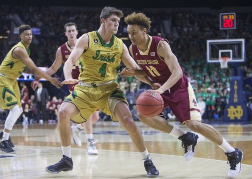 Signs of Positivity with Small Ball Lineup in Loss to Notre Dame