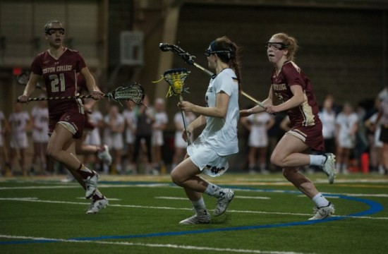Notre Dame Hands Lacrosse First Loss of Season