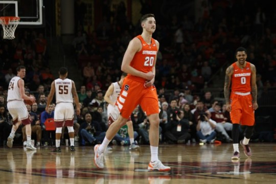 Notebook: Supporting Cast Goes Cold Against 'Cuse in Wet Conte Forum