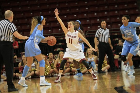 Notebook: Eagles Live and Die by the Three Against UNC