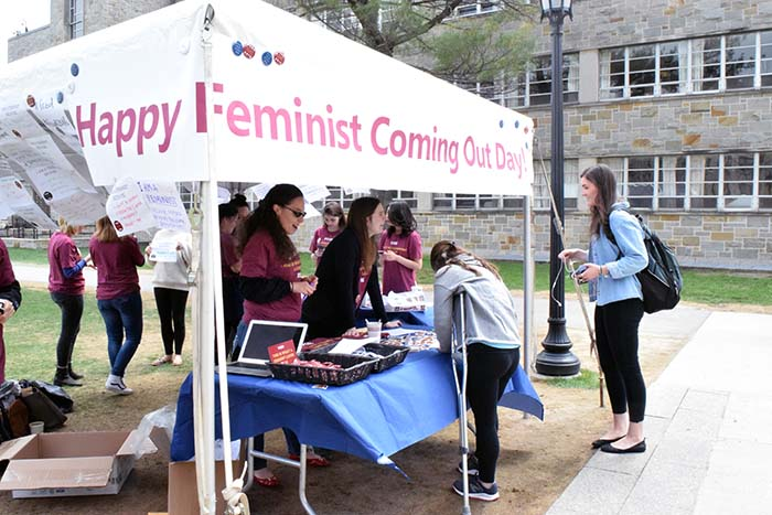 'Feminists Coming Out Day' Promotes Dialogue on Gender Equality