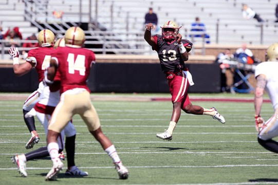 Sweeney, Smith, Brown Give Hope For BC's Future on Offense