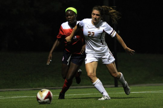 Behind Meehan's Two Goals, Women's Soccer Shuts Out Stony Brook