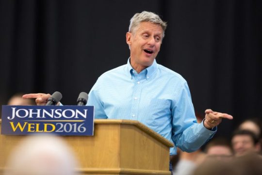 Gary Johnson and the Future of Third Parties