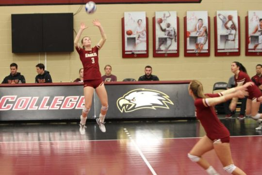 Volleyball Edges Wake Forest, Breaks 11-Game ACC Losing Streak
