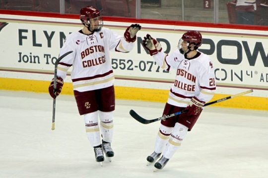 Walker, Greco Notch First Goals in Victory Over Friars