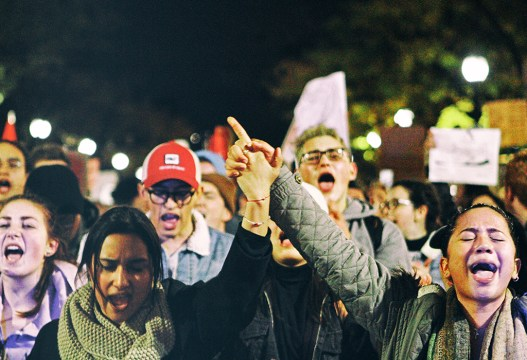Gallery: A Closer Look at Boston's Post-Election, Anti-Trump Rally
