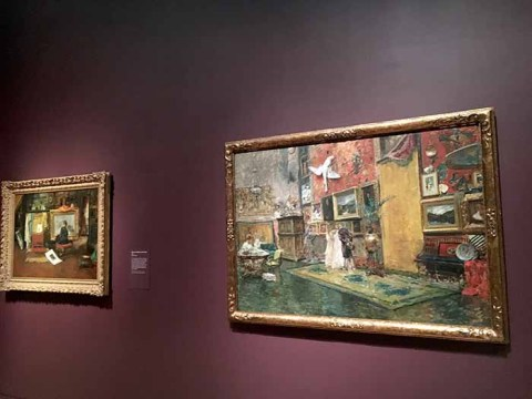 MFA Highlights Little-Known Undefinable American Artist