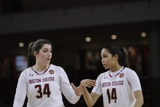 BC Drops Eighth Straight Game in Loss to Miami