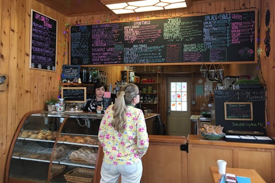 Cafe Breaks Grounds With Vegetarian Treats