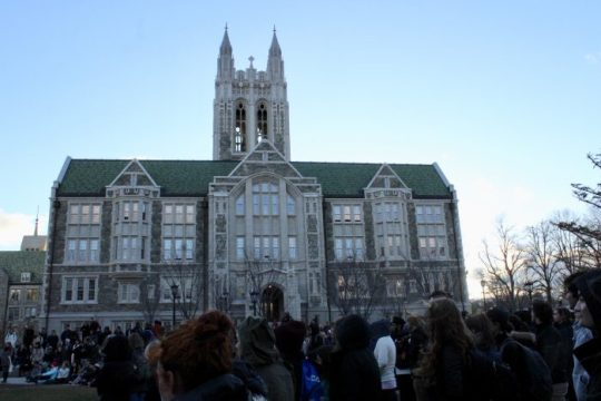 """Community Takes a Stand Against Sexual Assault at """"Take Back the Night"""""""