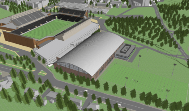 BPDA Approves BC Athletics Indoor Practice Facility