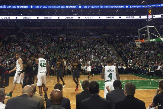 Finding Kindness at a Celtics Game