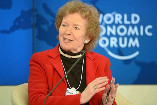 Former President of Ireland to Speak at Clough Colloquium