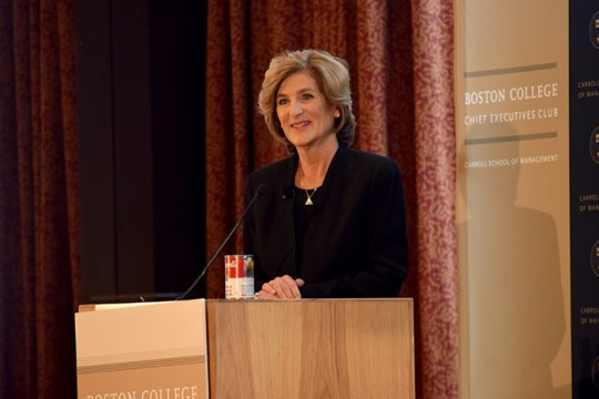 Campbell's CEO Denise Morrison, BC Alumna, on 'Seismic Shifts' in 2017