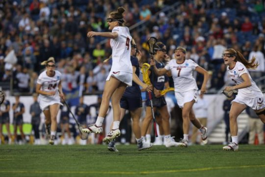 Second-Half Surge Lifts Lacrosse to National Final