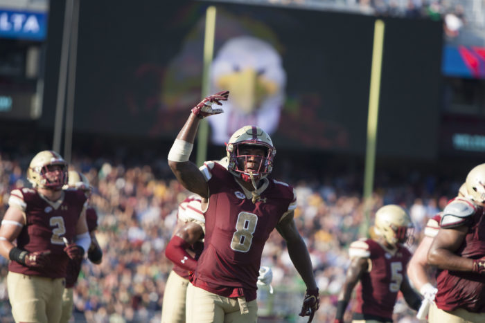 BC Enters Week Four With Improved Defense, Limping Offense