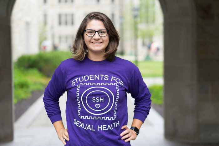 Risk Taker: Gabby Zabbo Runs Students for Sexual Health