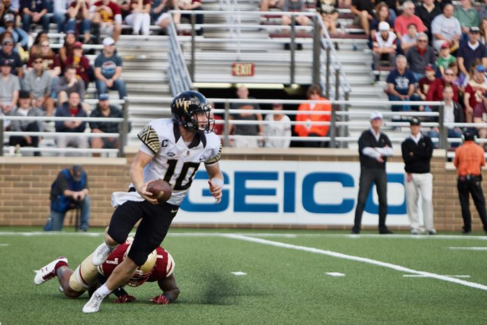 Notebook: Turnover Happy BC Hands ACC Opener to Wake Forest