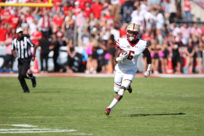 Notebook: BC Looks Like a Changed Team in Win Over Northern Illinois