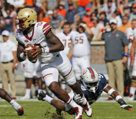 Brown's Career Day Fuels Blowout Win in Charlottesville
