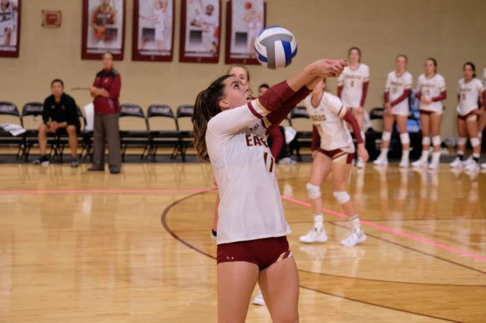 BC Shows Offensive Promise, but Loses in Three Sets to ACC-Best Pittsburgh