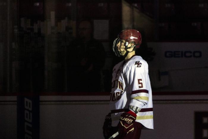 Fitzgerald's Game-Winner Lifts Men's Hockey Over Providence in Overtime