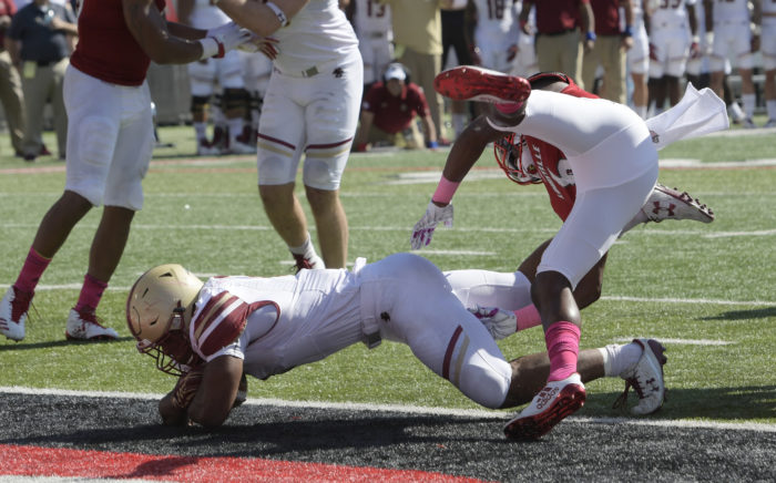 Notebook: Dillon Opens up BC's Offense in Upset Over Louisville
