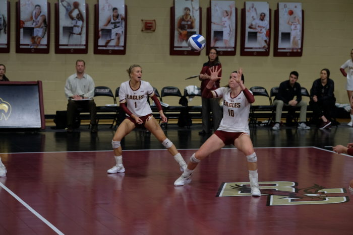 Eagles Defeat Wake Forest, Fall to Duke Over the Weekend