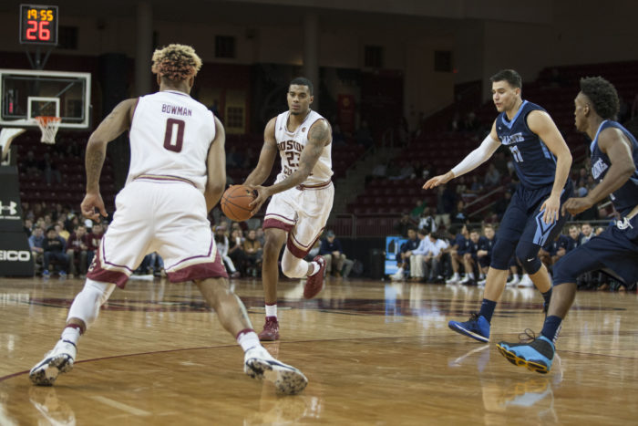 Hawkins, Frontcourt Steal the Show in Season-Opening Win Over Maine