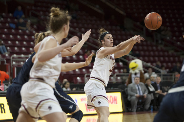 Eagles Let First-Half Lead Slip at Providence
