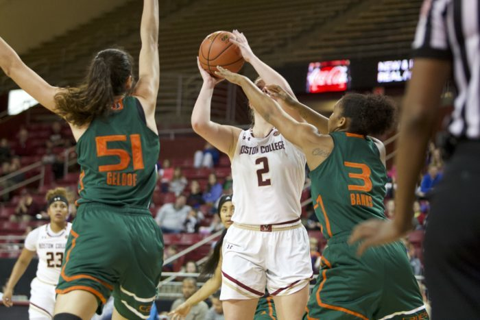 Notebook: Perimeter Problems, Turnovers Plague BC Against Miami