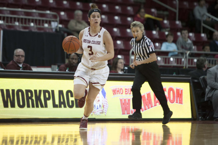 BC Bounces Back With Win Over North Carolina