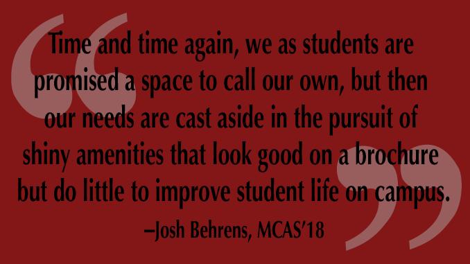 BC Student Center's Tragic Progression