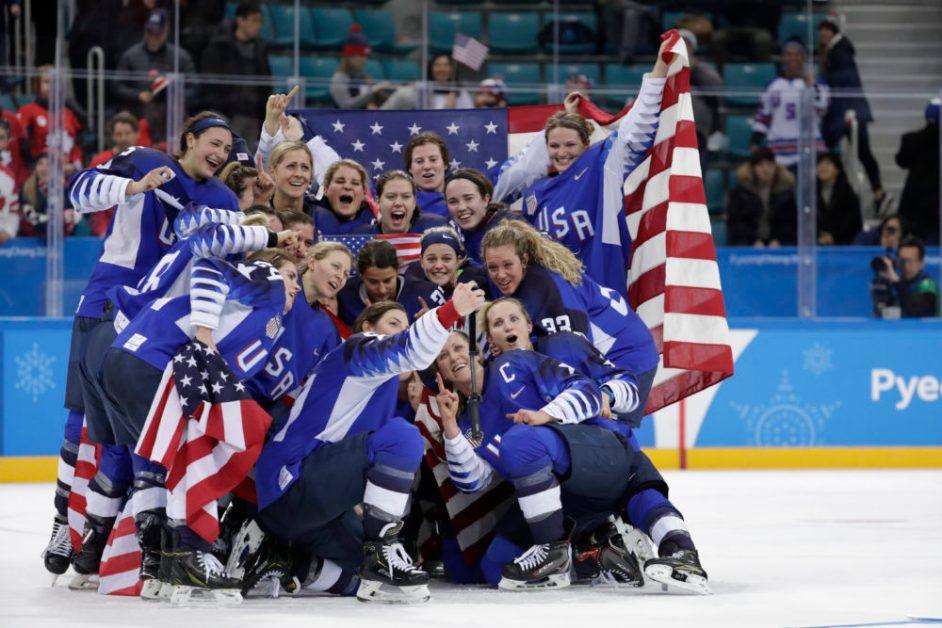 Five BC Women's Hockey Skaters Take Gold in Pyeongchang