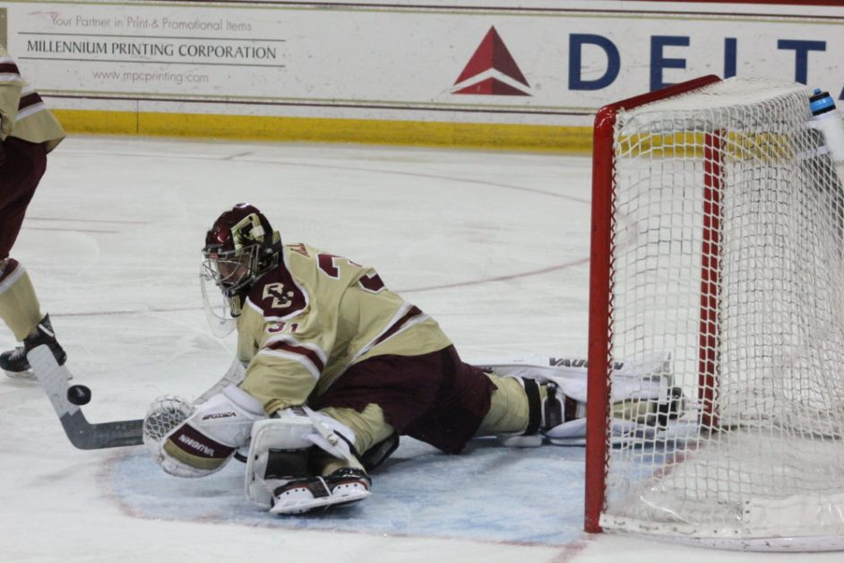 Woll Records First Shutout of Season in Rout of No. 21 Maine