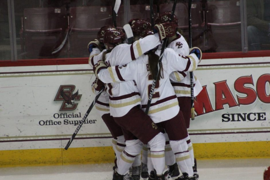 Miano Scores Overtime Game-Winner for BC's Third-Straight Beanpot Title