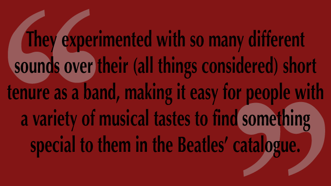 """LTE: A Response to """"The Beatles are Overrated"""""""
