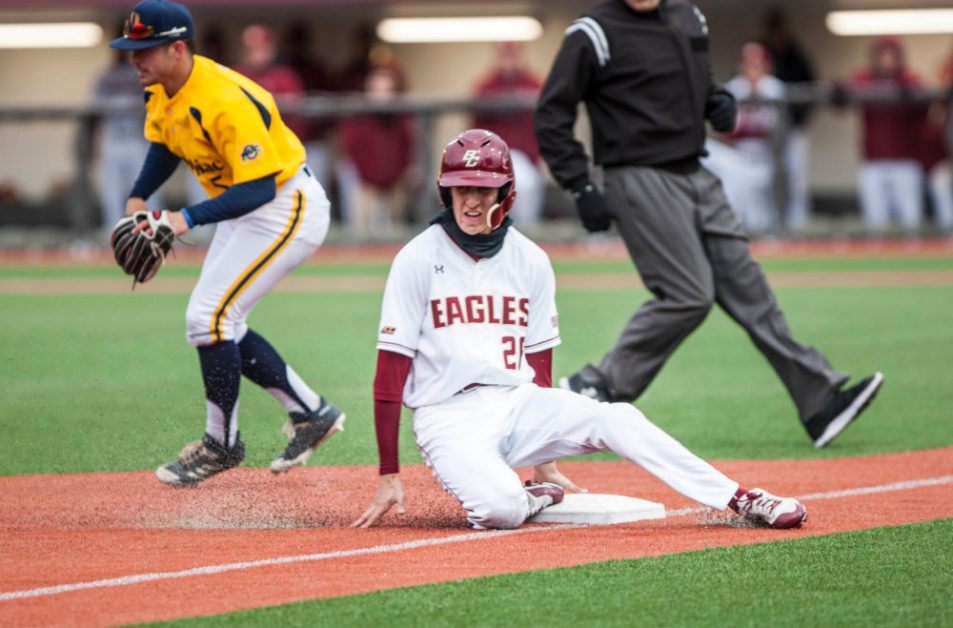 Five-Run Seventh Paces Eagles to Third Win in a Row