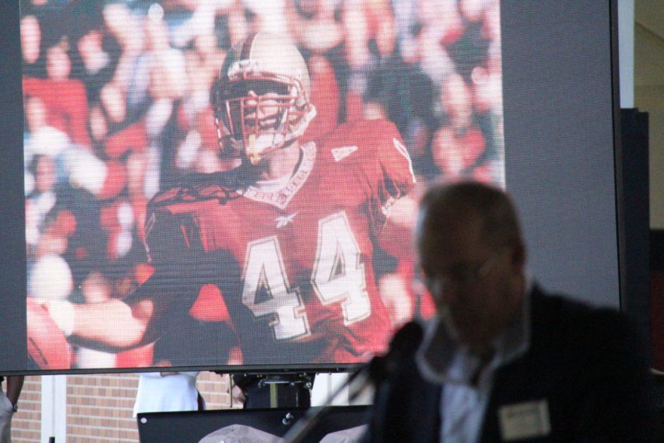 Football Practice Field Dedicated in Chamberlin's Honor