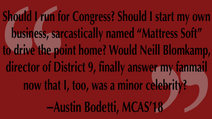 Guest Column: Bodetti's Back
