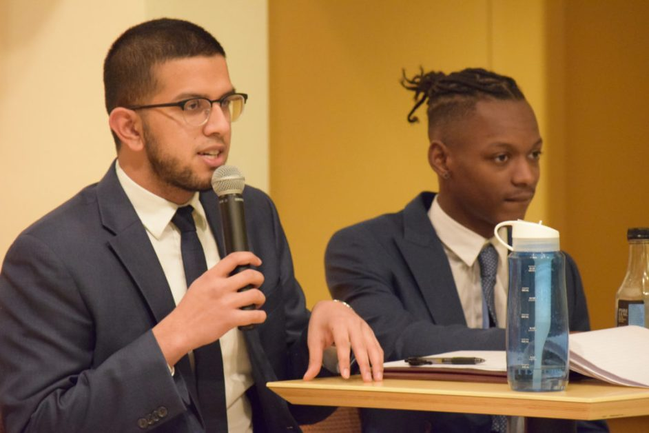 Sheikh Embraces New Role as Academic Affairs Chair