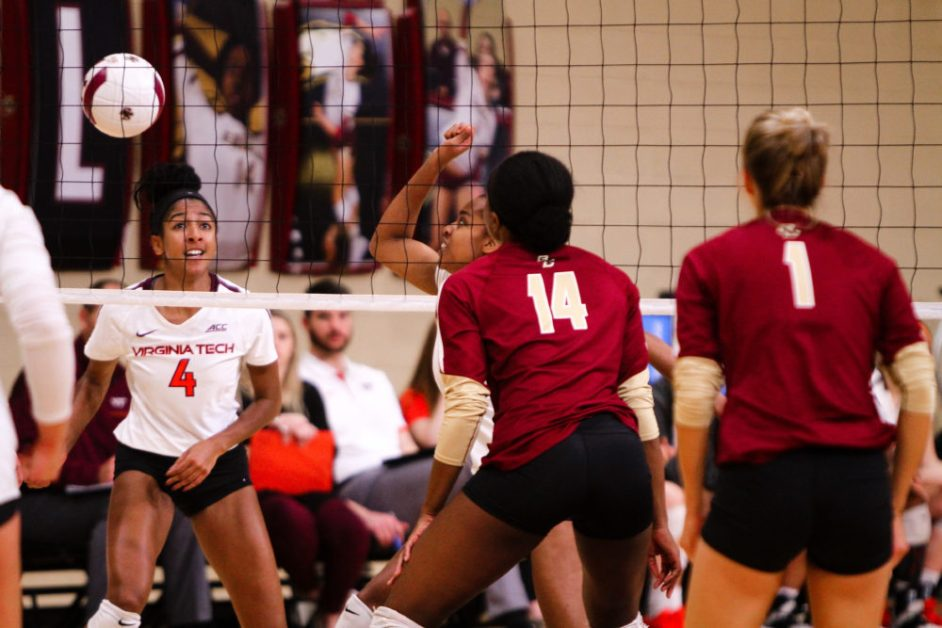 Eagles Hold off Virginia Tech in Dramatic Senior Night Victory