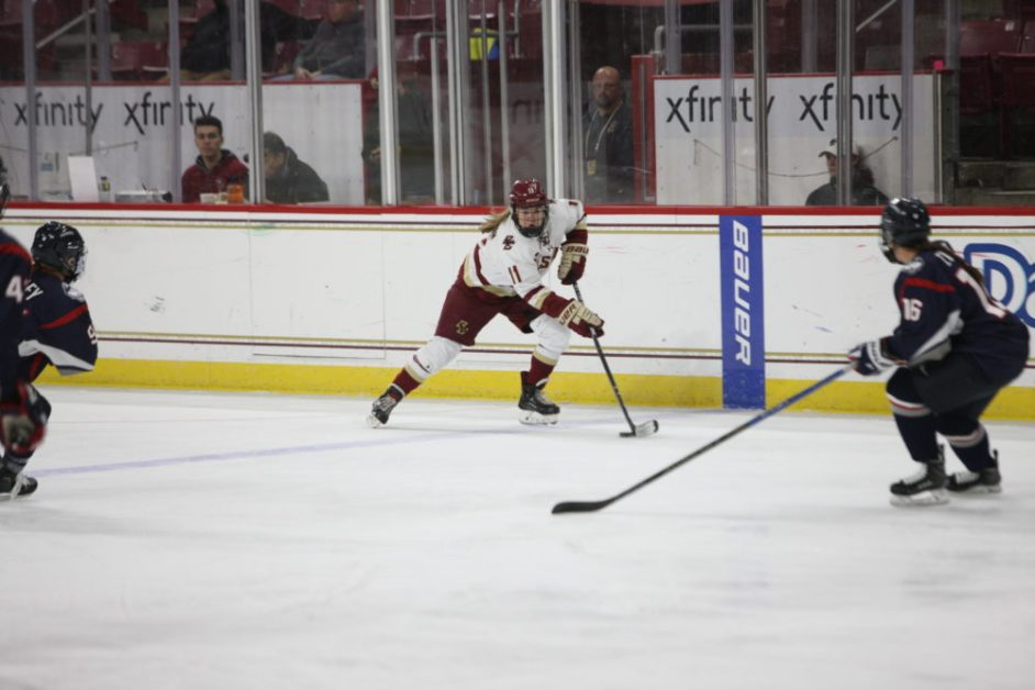 Lonergan Sparks BC to Bounce-Back Win Over Connecticut